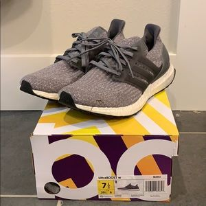 Women's UltraBoost 7.5 gray